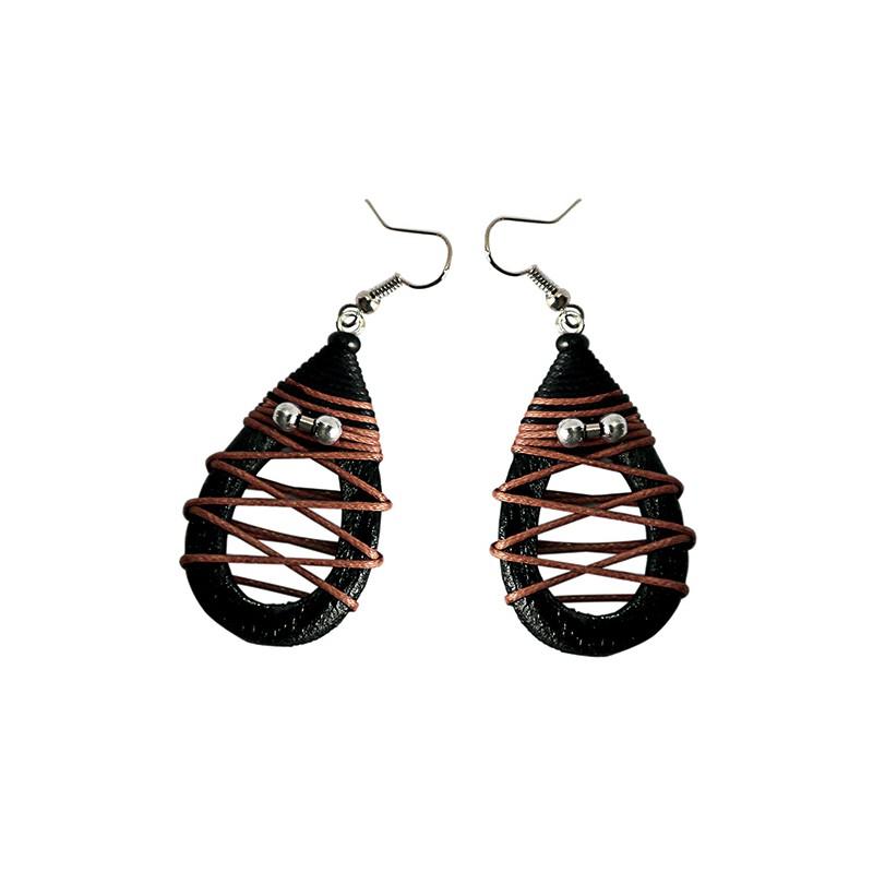 Earrings Mango Wood