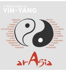 Large Yin Yang Wall Hanging