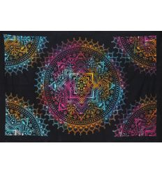 Tapiz de Pared Mandala Multicolor