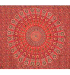 Red Mandala Large Hanging