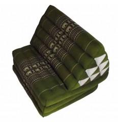 Green Thaï Triangular Cushion Jumbo