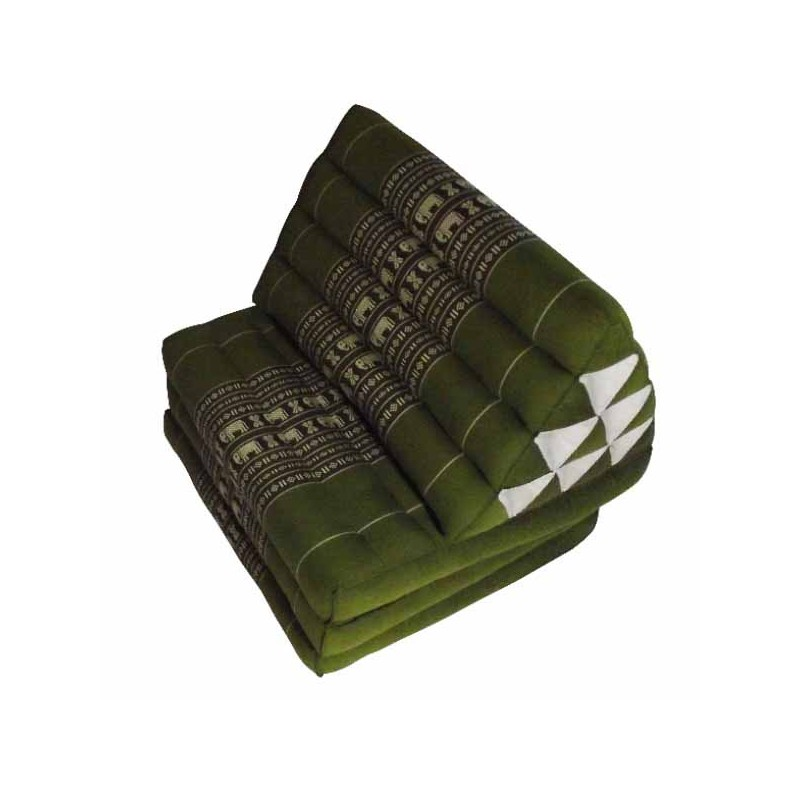 Brown Thaï Triangular Cushion Jumbo