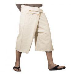 Pantalones Tailandeses Cortos Cremas