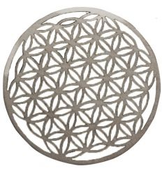 Wooden Flower of Life