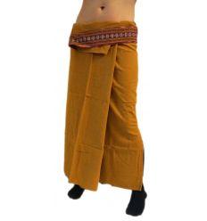 Falda Tailandesa Larga - Caramelo