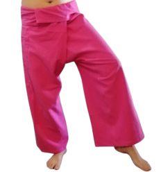 Pink Fisherman Pants