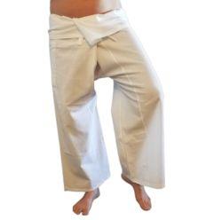 Pantalon Thailandais Blanc