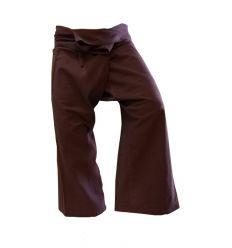 XL Fisherman Pants - Dark Brown