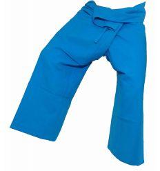 Pantalon Thaï XL Bleu Turquoise