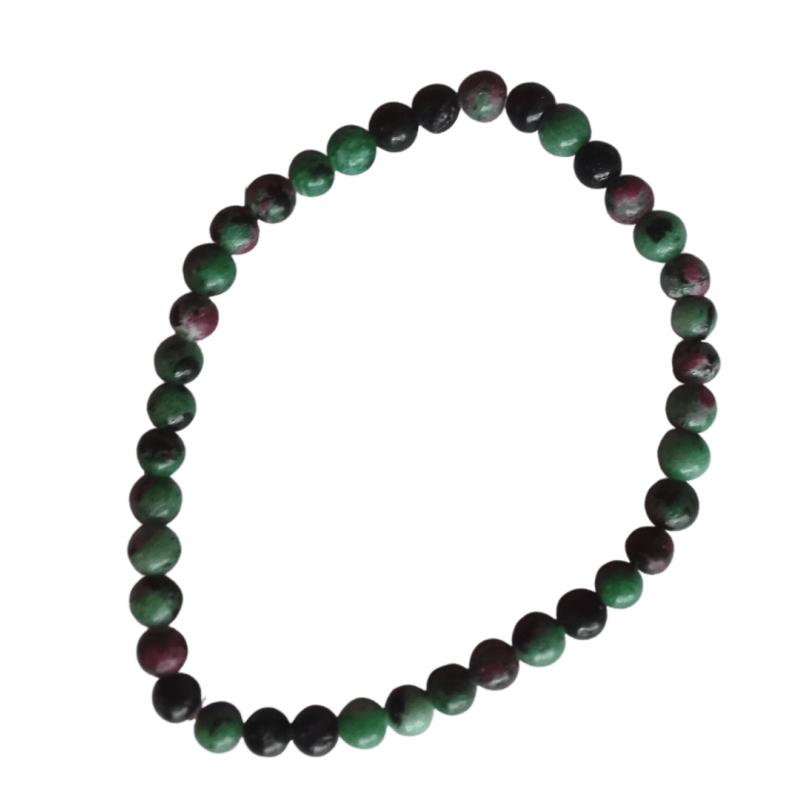 Bracelet Rubis sur Zoïzite