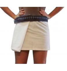 Mini Falda Tailandesa Blanco