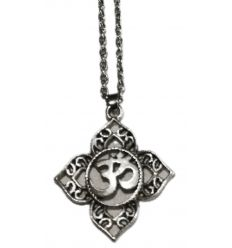 Collier Lotus Om