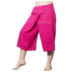 Pink Thai Capris