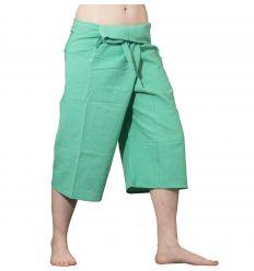 Pantalones Tailandeses Cortos Verde Claro