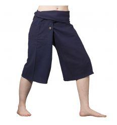 Pantalones Tailandeses Cortos Azul Marino