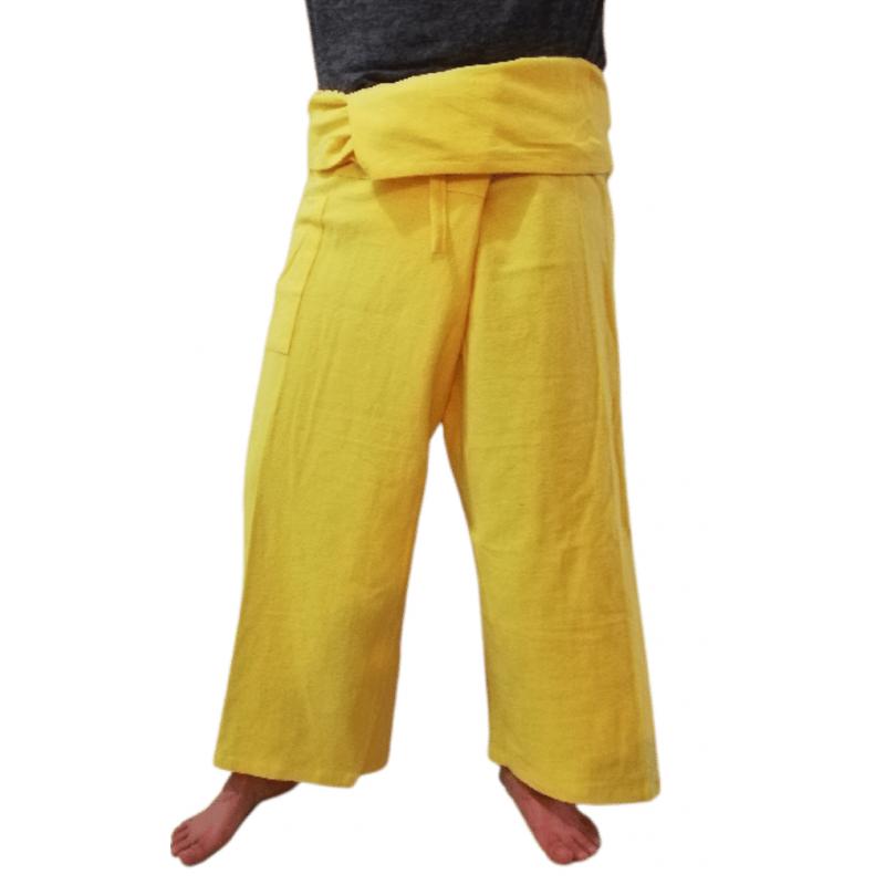 Pantalones Tailandeses Amarillos