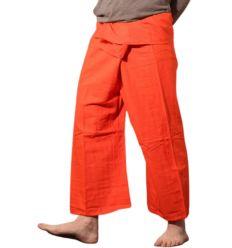Orange Fisherman Pants