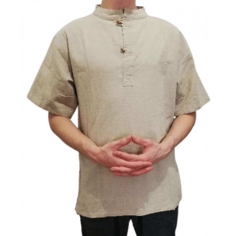 Camisa de Cáñamo para Hombre