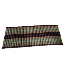 Brown Roll-up Mattress - Unfolded