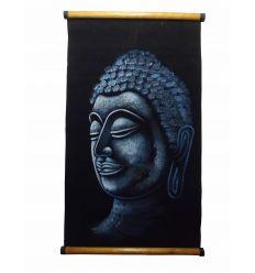 Blue Parchment Buddha