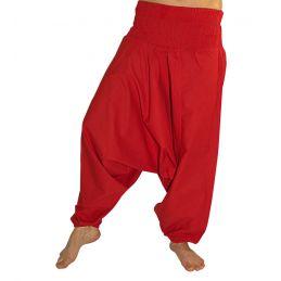 Pantalon Aladin Smocké Rouge
