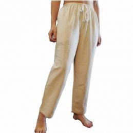 Pantalon Beige Coton