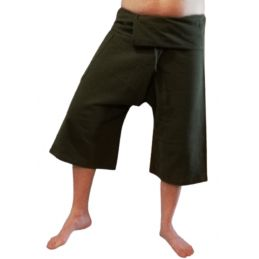 Army Green Thai Capris