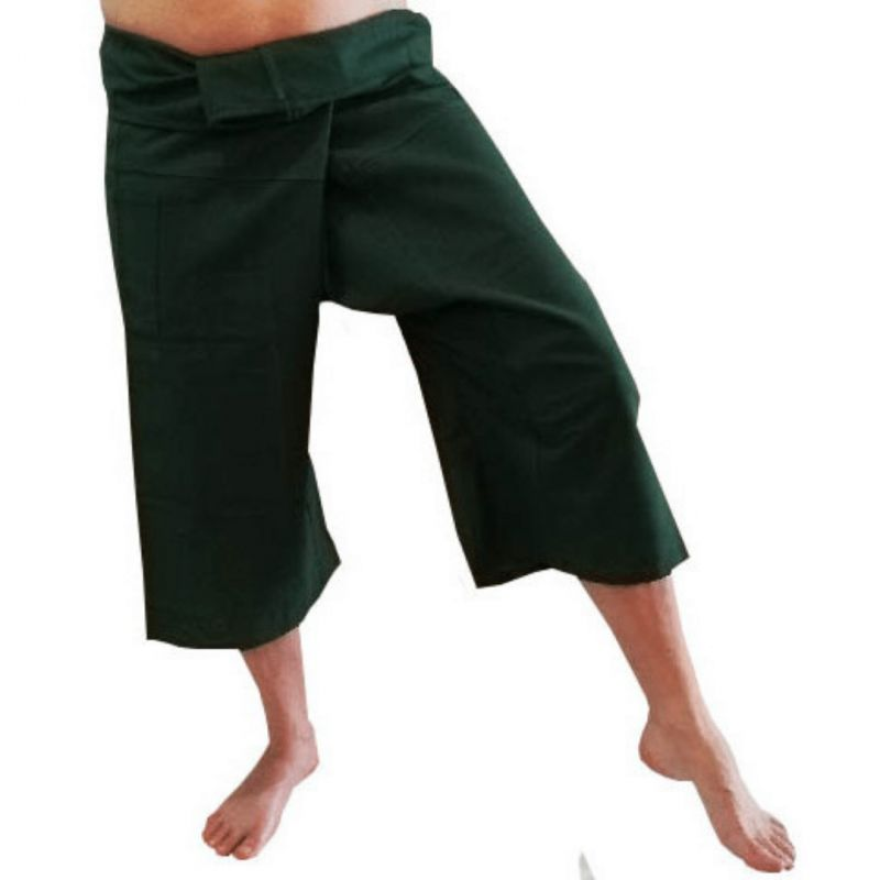 Pantalones Tailandeses Cortos Caquis
