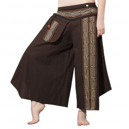 Pantalon Mong Chocolat