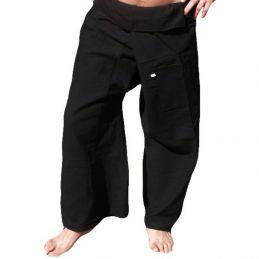 XL Fisherman Pants - Black