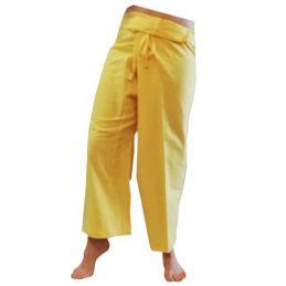 Pantalon Thaïlandais XL Jaune