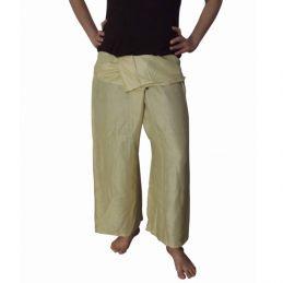 Pantalon Thaï Rayonne Sable (Beige)