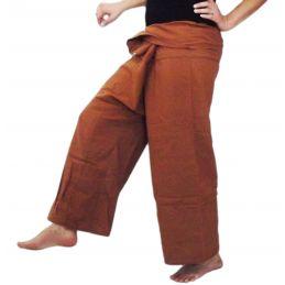 Pantalon Thaï XL Caramel