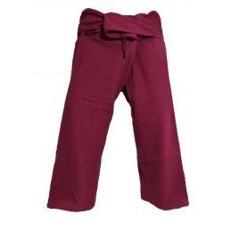 XL Fisherman Pants - Dark Red