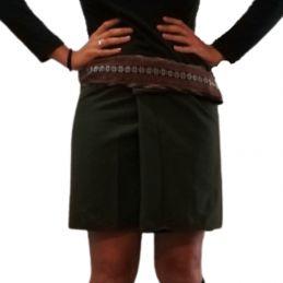 Mini Wrap Thai Skirt