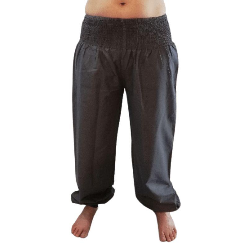 pantalones de yoga burdeos