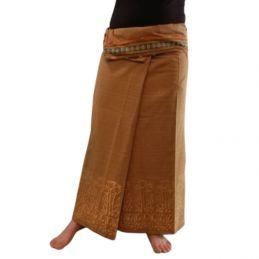 Long wrap Thai Skirt