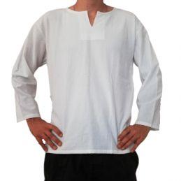 Chemise Coton Blanche Homme