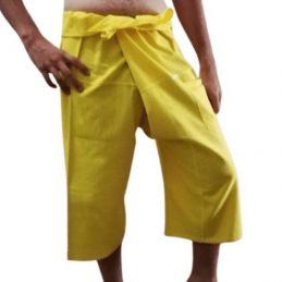 Yellow Thai Capris