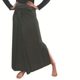 Khaki Rayon Thaï Skirt