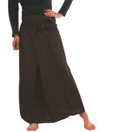 Brown Rayon Thaï Skirt