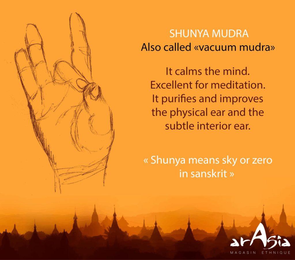 SHUNYA MUDRA