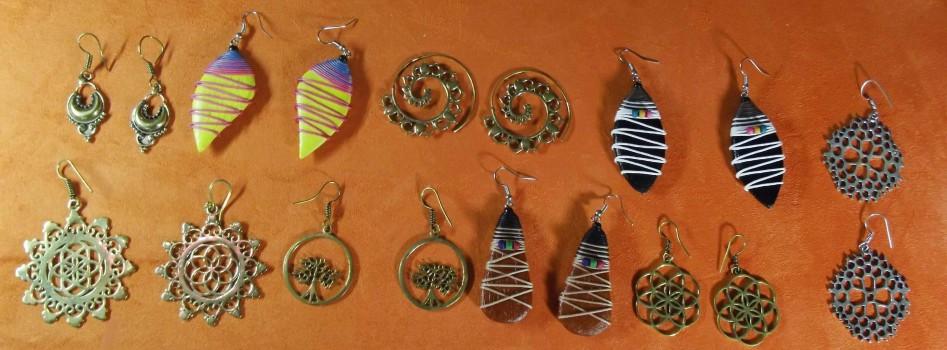 Boucles d'Oreilles - Arasia-Shop