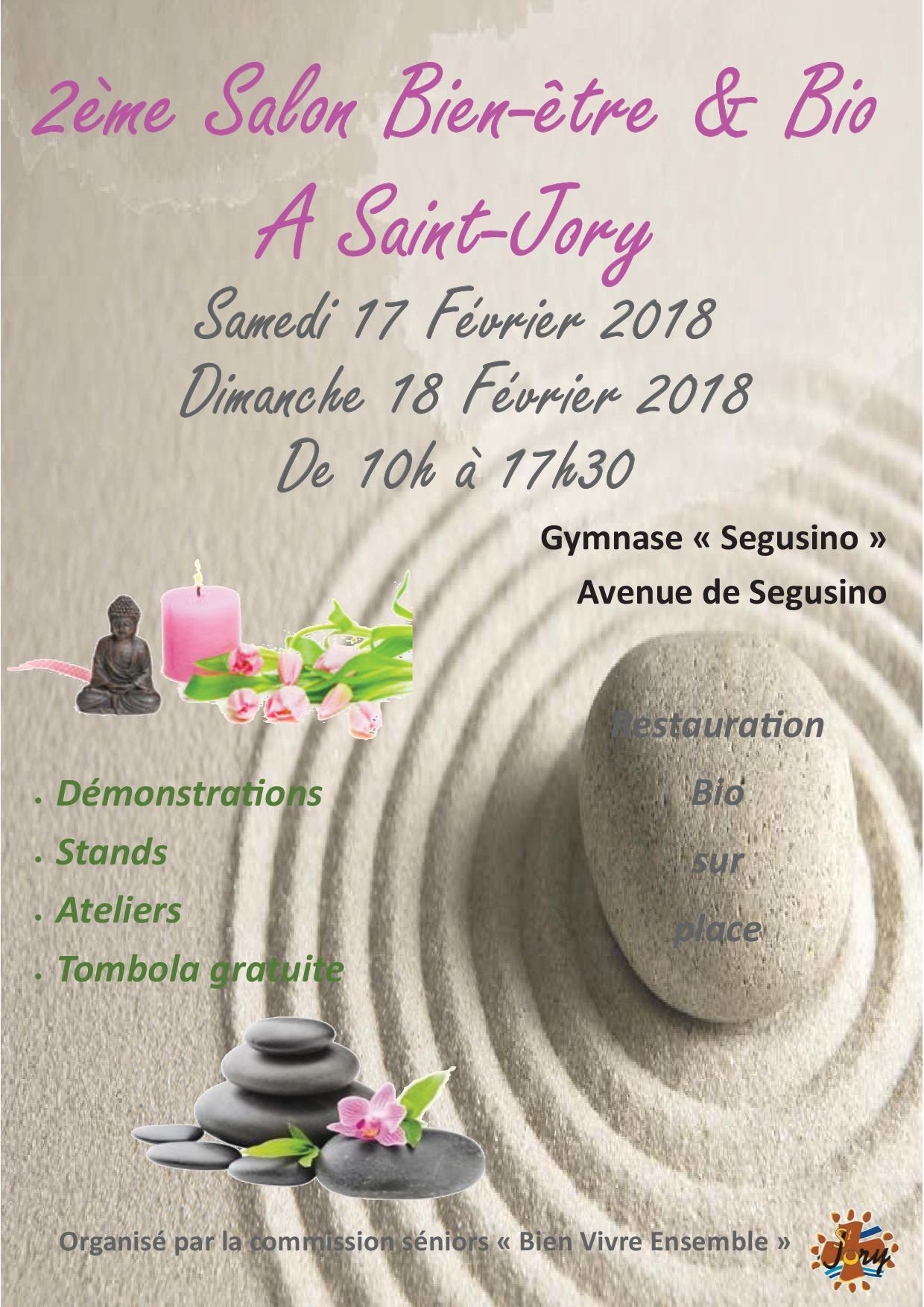 Salon Bien Etre St Jory 2018