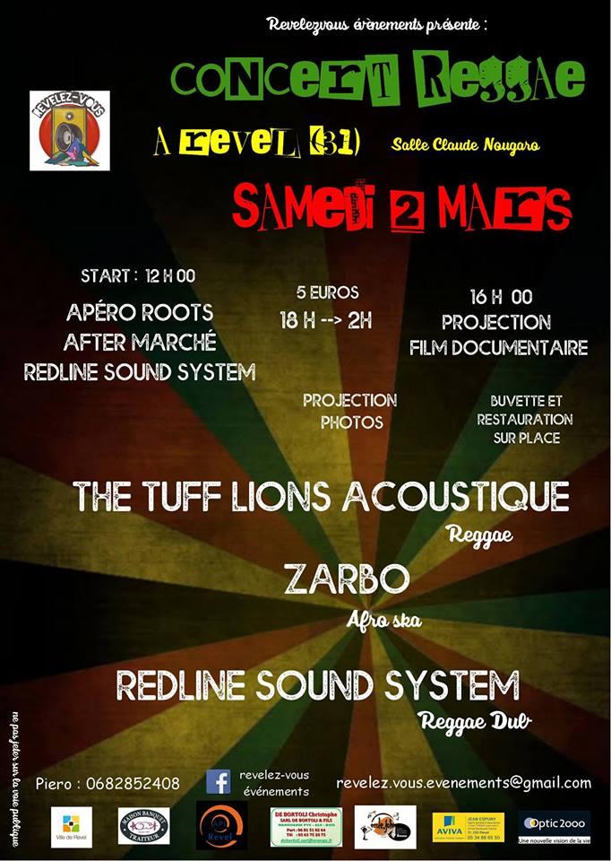 concert reggae revel
