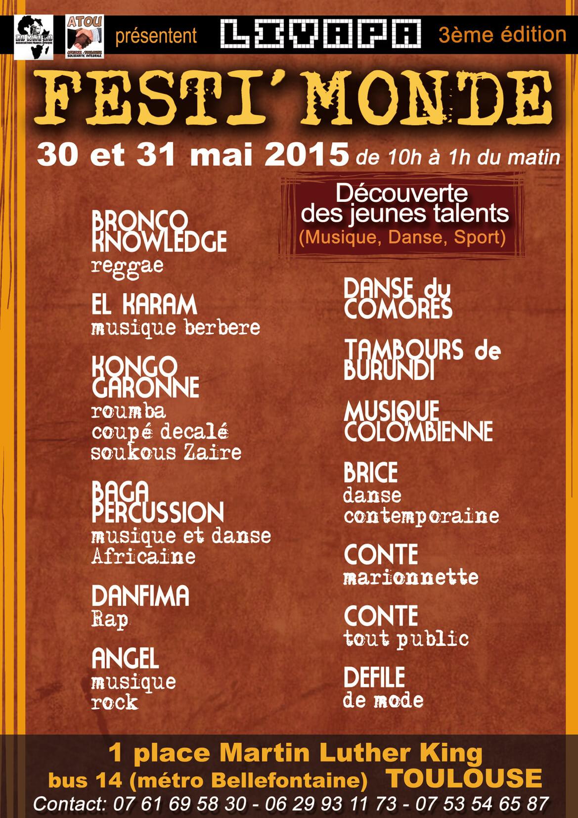 Arasia Festi Monde 2