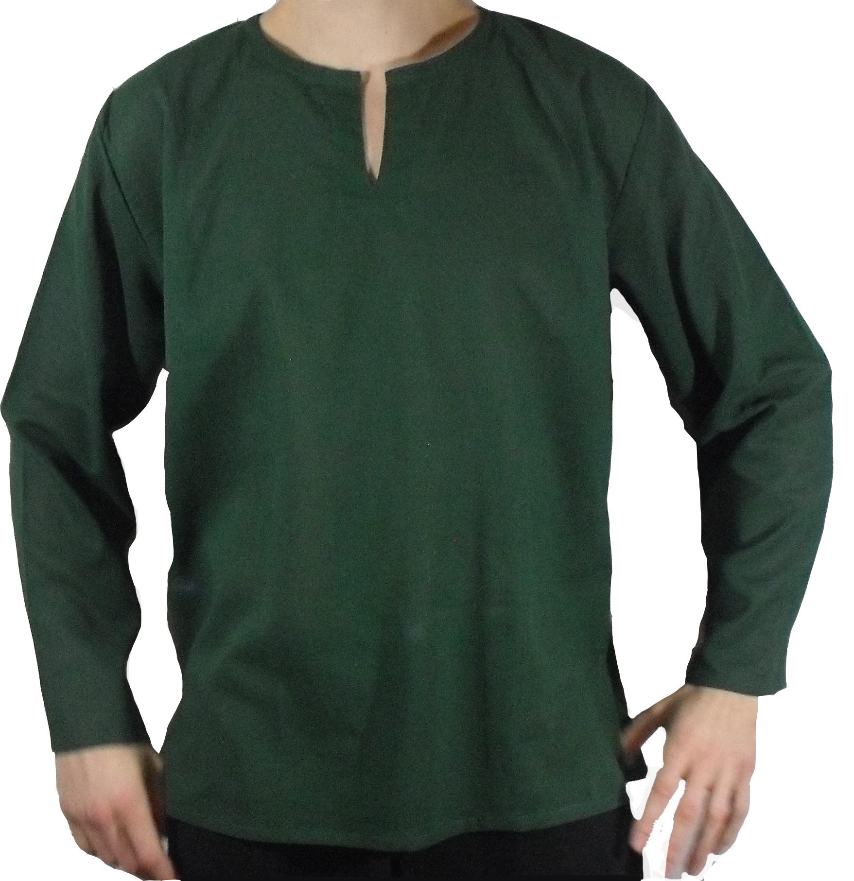 chemise coton verte arasia