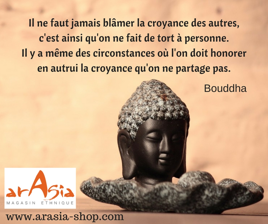 citation bouddha tolérance