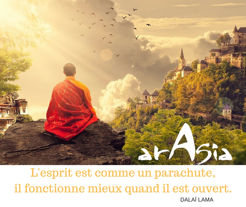 citation dalaï lama esprit