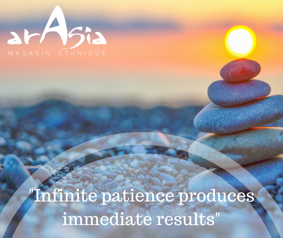 Infinite patience produces